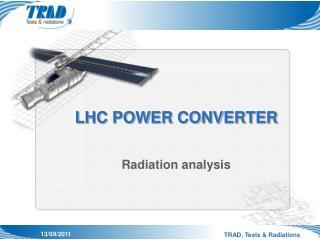 LHC POWER CONVERTER
