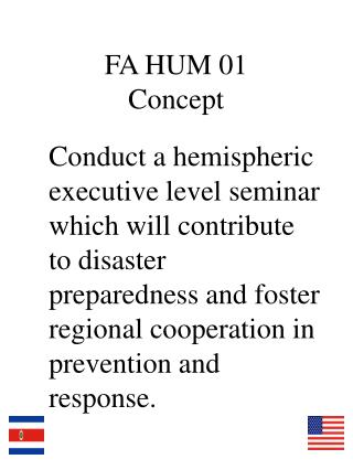 FA HUM 01 Concept