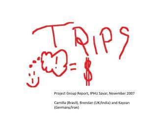 Project Group Report, IPHU Savar, November 2007