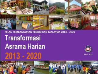 Inisiatif Transformasi Asrama Harian, KPM