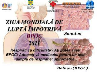 ZIUA MONDIAL Ă DE  LUPTĂ  ÎMPOTRIVĂ  BPOC 2011
