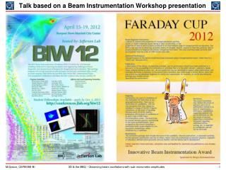 Talk based on a Beam Instrumentation Workshop presentation