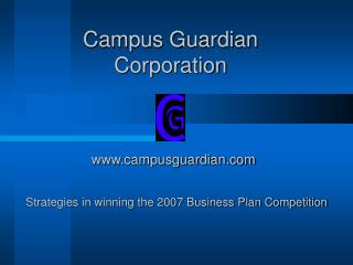 Campus Guardian Corporation
