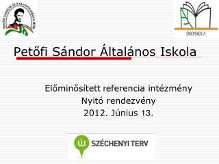 Petőfi Sándor Általános Iskola