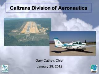 Gary Cathey, Chief January 29, 2012