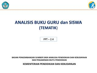ANALISIS BUKU GURU dan SISWA  (TEMATIK )