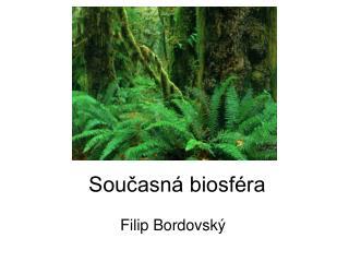 Současná biosféra