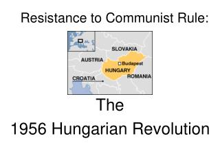 Resistance to Communist Rule: