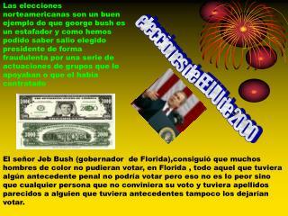 elecciones de EE.UU de 2000