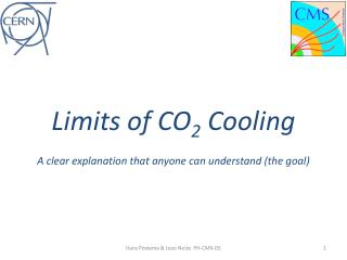 Limits of CO 2  Cooling A  clear explanation  that an yone can understand (the  goal )