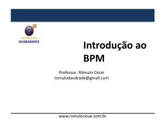 Introdução ao BPM