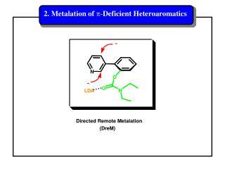 2. Metalation of  p - Deficient Heteroaromatics