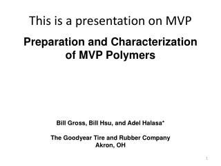 This is a presentation on MVP