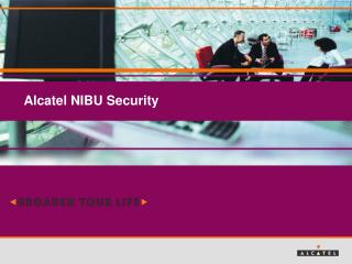 Alcatel NIBU Security