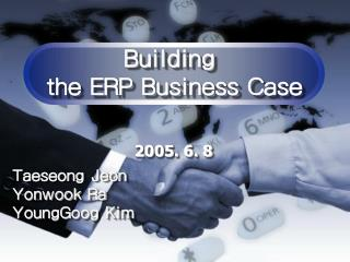 Building  the ERP Business Case