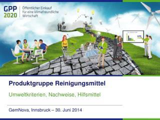 GemNova , Innsbruck – 30.  Juni  2014