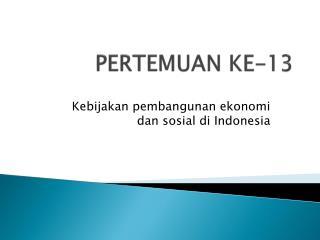 PERTEMUAN KE-13