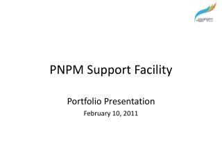 PNPM Support Facility