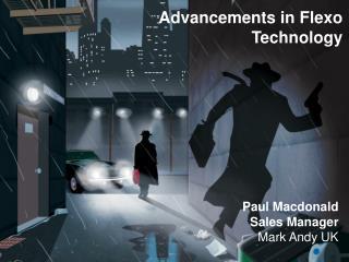 Paul Macdonald Sales Manager  Mark Andy UK