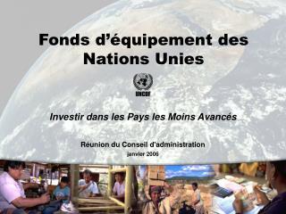Fonds d'équipement des Nations Unies