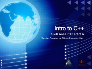 Intro to C++