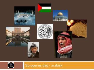 Sprogenes dag - arabisk