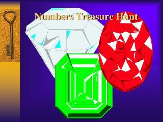 Numbers Treasure Hunt