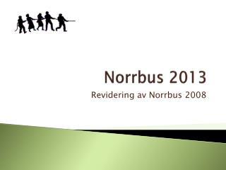 Norrbus 2013