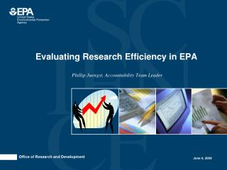 Evaluating Research Efficiency in EPA