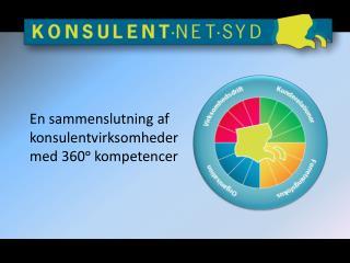 En sammenslutning af konsulentvirksomheder med 360ᵒ kompetencer