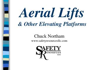 Aerial Lifts & Other Elevating Platforms