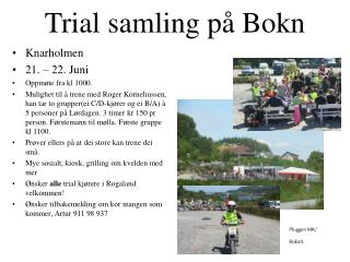 Trial samling på Bokn