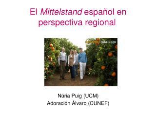 El  Mittelstand  español en perspectiva regional