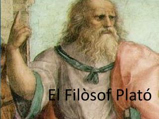 El Filòsof Plató