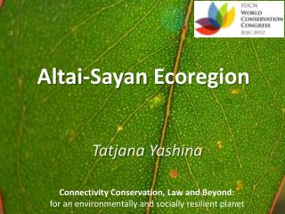 Altai- Sayan Ecoregion