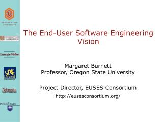 The End-User Software Engineering Vision