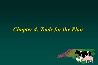 Chapter 4: Tools for the Plan