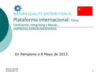 En Pamplona a 8 Mayo de 2013.