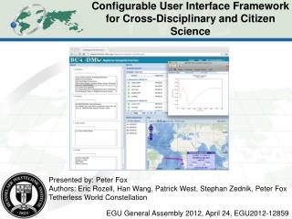 Configurable User Interface Framework for Cross-Disciplinary  and  Citizen Science