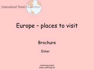 Europe – places to visit