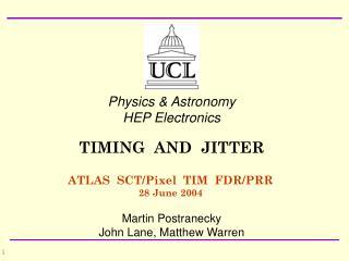ATLAS  SCT/Pixel  TIM  FDR/PRR 28 June 2004