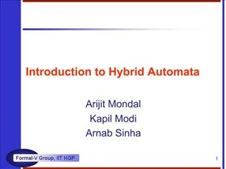 Introduction to Hybrid Automata