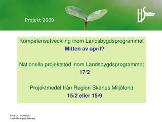 Projekt 2009