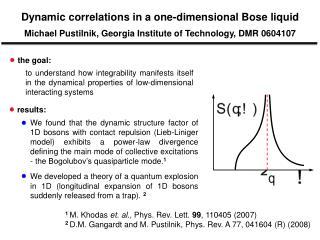 1  M. Khodas  et. al. , Phys. Rev. Lett.  99 , 110405 (2007)