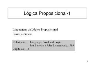 L�gica Proposicional-1