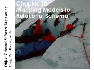 Chapter 10, Mapping Models to Relational Schema