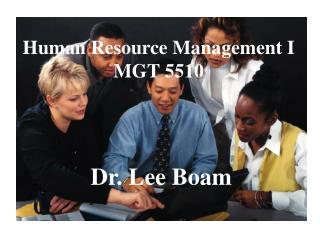 Human Resource Management I MGT 5510