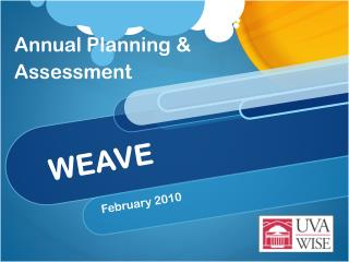 Annual Planning & Assessment