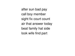 after sun bad pay call boy member sight fix court count air that answer today beat family hat side