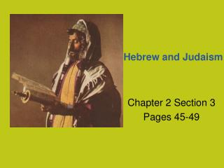 Hebrew and Judaism